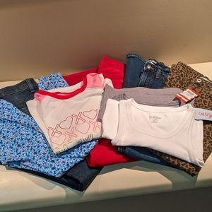 Bundle of 8 items girls clothing Size 10